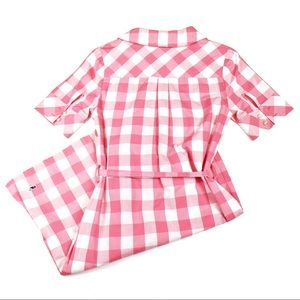 Vineyard Vines Dresses - Vineyard Vines Pink Checkered Dress